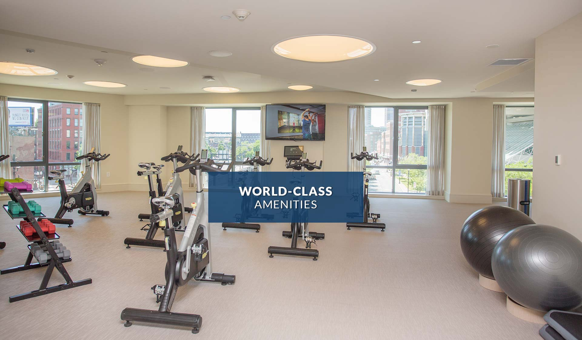 One Canal Apartment Homes - Fitness Center - Boston, MA