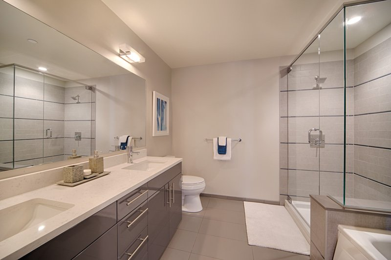 Penthouse Bathroom: View Photo
